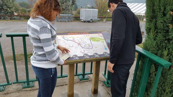 Plan de ville interactif – Flayosc